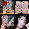 3D Handmade Luxury Bling Diamond Rhinestone Crystal Jewelled Phone Case Cover 14