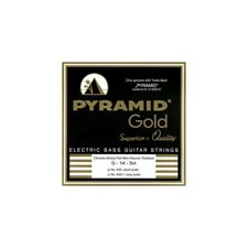 Pyramid Gold 40-100 Short Scale Pure Nickel 4-String Flatwound Bass Strings