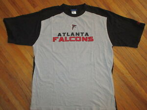ATLANTA FALCONS T SHIRT Ringer Jersey Tee Football Reebok Licensed Adult L/XL