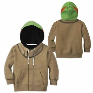 Star Wars The Mandalorian Baby Yoda Kids Hoodie Jacket Coat Sweatshirt Costumes