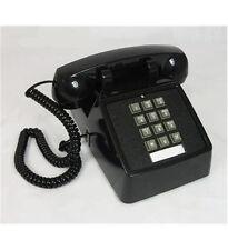 SciTec Aegis Traditional Desk Corded Phone - Double-gong Ringer Aegis-2510-Bk