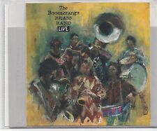 The Boomerangs Brass Band-Live cd album