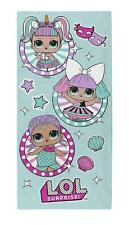 L.O.L. Surprise! Bath or Beach Towel for Girls - Confetti Pop Series 100% Cotton