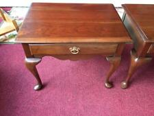 Vintage Pennsylvania House Cherry End Tables (Limited Edition)