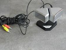 STEREO MICROPHONE studio Philips N 8402 micro Mikrofon Altes Stereomikrofon