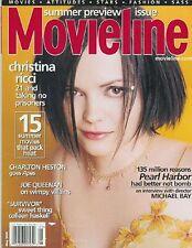 CHRISTINA RICCI Michael Bay interview CHARLTON HESTON Jacqueline Bisset