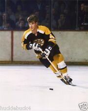 BOBBY ORR Color Photo (c) in action HOF Boston Bruins #6