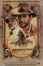 Indiana Jones and the Last Crusade (1989) Harrison Ford movie poster print