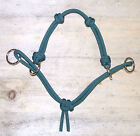 NEW 4 Knot MODIFIED Side Pull Horse Rope Hackamore Bitless Bridle Attachment