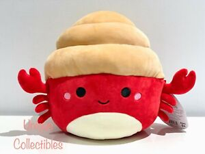 "Squishmallows Indie the Hermit Crab 10"" Plush Brand NEW"
