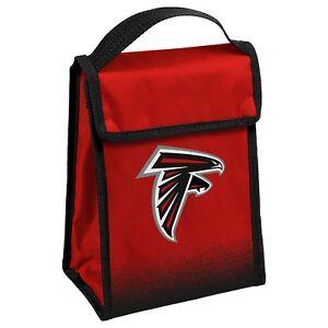 "Atlanta Falcons Insulated Lunch Bag Box Cooler Gradient Team Logo 9"" 7"" x 4.5"""