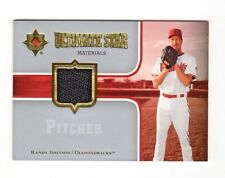 RANDY JOHNSON MLB 2007 ULTIMATE COLLECTION ULTIMATE STAR MATERIALS (DIAMONDBACKS