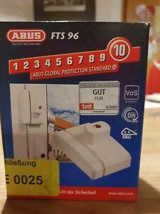 Abus FTS 96 B Fenster-Zusatzschloss - braun - Sicherheit 10 / 10 - neu