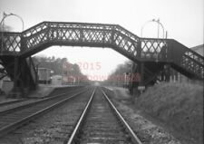PHOTO  SR OVERTON RAILWAY STATION VIEW BETWEEN OAKLEY AND WHITCHURCH IN THE 1960