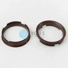 2 x Centering Ring Distance Alloy Wheels z12d 72,6 - 66,6 mm Brock, Keskin - NEW
