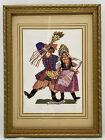 Krakowiak Polish Dance Folk Art Framed Print by Zofia Stryjenska Krakow Poland