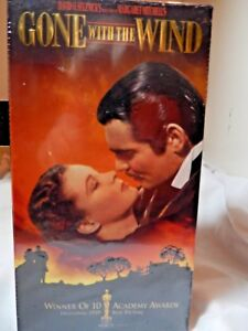 Gone With The Wind  VHS Tape unopened