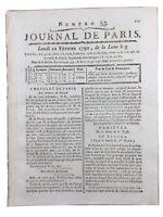 Liberté de la Presse 1790 Imprimerie Grenoble Révolution Française M de Favras