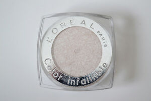 LOREAL INFALLIBLE 24H EYESHADOW COLOR NO 001 TIME RESIST WHITE NEW