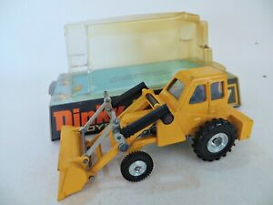 DINKY 437 'MUIR HILL 2WL LOADER' YELLOW. SUPERB/BOXED/BLISTER/BUBBLE.