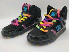 DC Shoes Rebound High SE Kids Sz 5 High Top Black Multicolor NEW Womans Sz 7