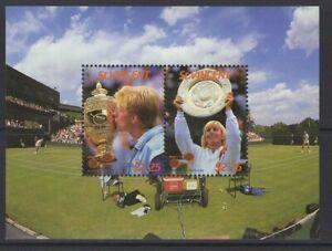ST.VINCENT SGMS1065 1987 INTERNATIONAL LAWN TENNIS PLAYERS MNH