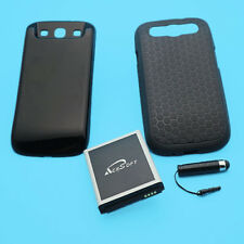 7570mAh Standard Extended Battery+Cover+TPU Case f Samsung Galaxy S II