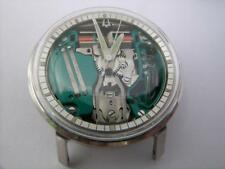 Bulova accutron chapter ring spaceview,stainless steel M6