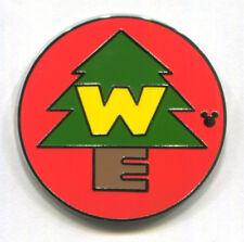 WILDERNESS EXPLORER BADGE - 2013 Hidden Mickey COMPLETER PWP Disney Pin - UP