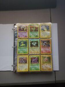 Pokemon Card Collection Binder Lot Massive TCG Vintage Holos *Look!*.