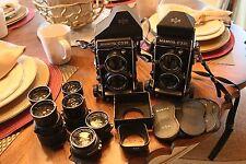 Mamiya C330 Professional F, C330 Professional, 80mm/55mm/135mm/180m Lenses