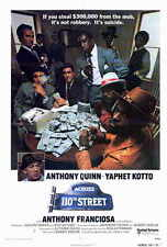 ACROSS 110TH STREET Movie POSTER 27x40 Anthony Quinn Yaphet Kotto Anthony