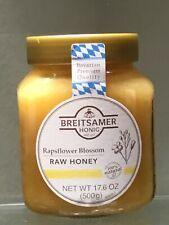 Breitsamer Rapsflower Blossom Honey Jar, 17.6 oz Product of Germany