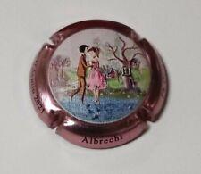 capsule de champagne ALBRECHT-CHARDONNIER Y. n° 3 St Valentin en relief NEW