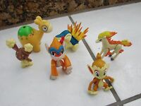 "Lot  of 2007+  3"" Nintendo Jakks  PVC Pokemon Figures  LOT OF 6 figures"