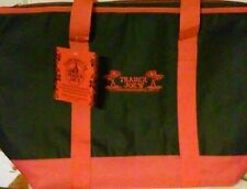 Trader Joe's Extra Large 7 Gallon Black Red Insulated Bag Reusable NWT