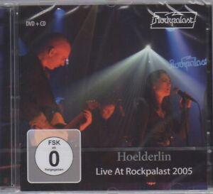 HOELDERLIN, LIVE AT ROCKPALAST 2005, DVD + CD, SEALED