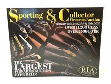 Rock Island Auction Company Collector Firearms Catalog Feb 13-16, 2020 RIA 3870X
