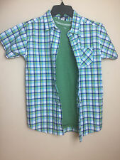 Boys L (14/16) Plaid buttondown + t-shirt - EXCELLENT condition!