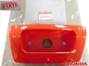 HONDA TRX250 250 RECON RED TOOLBOX DOOR  STORAGE BOX COVER TAILLIGHT HOLDER OEM