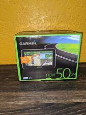 Garmin Nuvi50Lm Gps w/ Usb Power Cord - Tested Works Great
