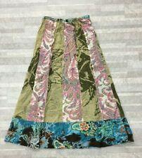 NEW Da-Nang Surplus Women's Drawstring Multicolorie Long Skirt CSV13471708 XS
