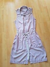 Vero Moda Sommer  Hemdkleid  knielang Gr.S 34/36 flieder/blau