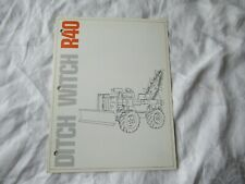 Ditch Witch R40 brochure