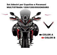 Adesivi per cupolino e paramani Grand Tour Design - Ducati Multistrada