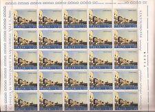 1973 SALVIAMO VENEZIA L. 20 n° 1200 -1a tiratura IN FOGLIO NUOVO MNH**