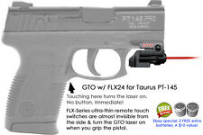 ArmaLaser GTO for Taurus PT145 - Red Laser Sight w/ FLX24 Grip Touch Activation