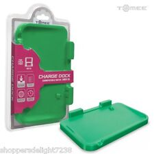 Nintendo 3DS XL Battery Charging Dock Cradle Base - Green- ( Tomee) USA Seller