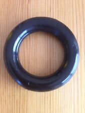 Plastic Ring Black 4 Pack