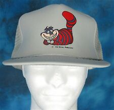 NOS vintage 80s ALICE IN WONDERLAND CHESHIRE CAT DISNEY TRUCKER HAT snapback